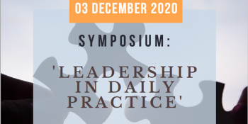 Save the date: Symposium 'Leadership in Practice'