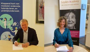 Leyden Academy en CIV Welzijn & Zorg slaan handen ineen